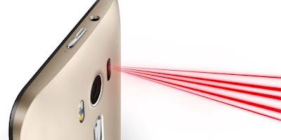 Laser auto focus zenfone 2 max