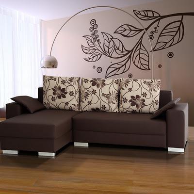 Decoraciones y mas elegantes salas color tierra en el 2013 for Decoracion de salas pequenas color chocolate
