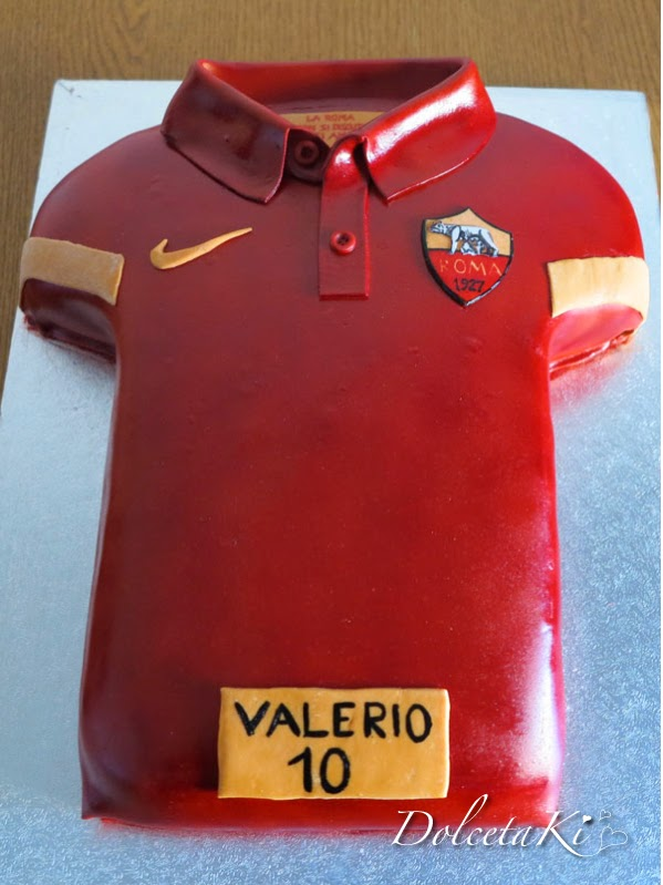 torta maglietta roma