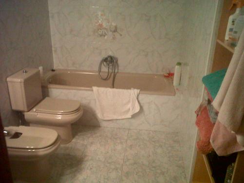 Reforma Baño Con Microcemento:Baño con Ducha: Microcemento: otra opción para la reforma de tu