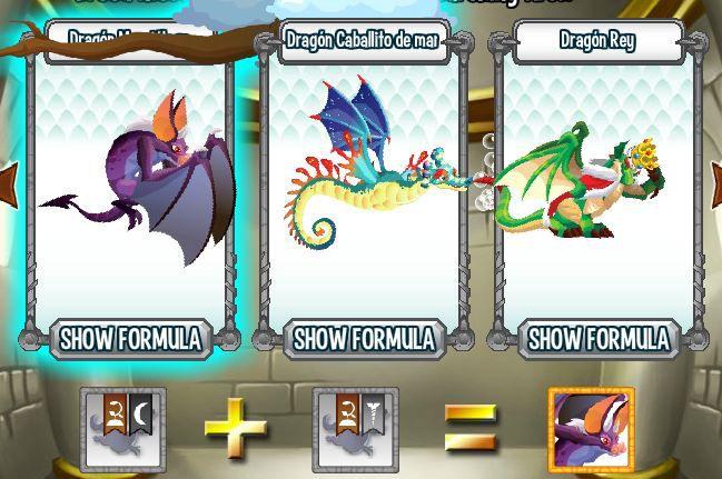 investigando formula para aparear dragon murcielago en la cripta de deus