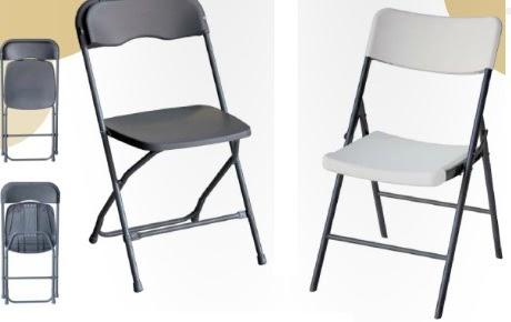 Mesas y sillas sillas plegables de polipropileno for Sillas y mesas plegables