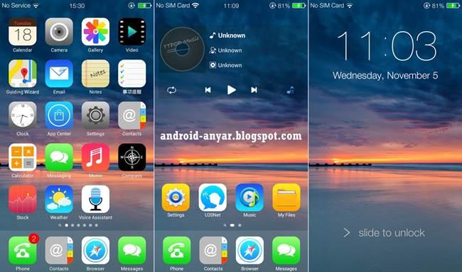 Aplikasi Launcher Android Tampilan Mirip iPhone iOS Gratis
