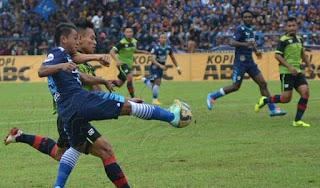 Persib Bandung Menang 3-2 atas PBR Laga Ujicoba Kuningan