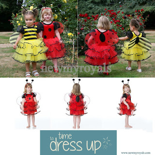 Princess Leonore style Time to Dress Up Children's Ladybird Dress