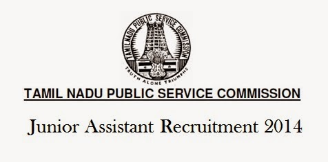 TNPSC Junior Asst Group 4 Recruitment 2014