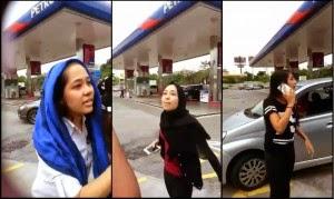 Video Penuh Amukan Gadis Myvi Di Shah Alam