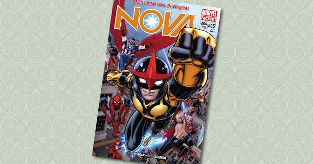 Nova 5 Panini Cover