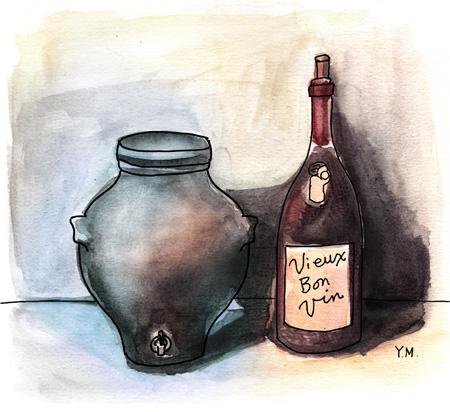 mother of vinegar by Yukié Matsushita