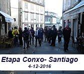 Etapa Conxo- Santiago