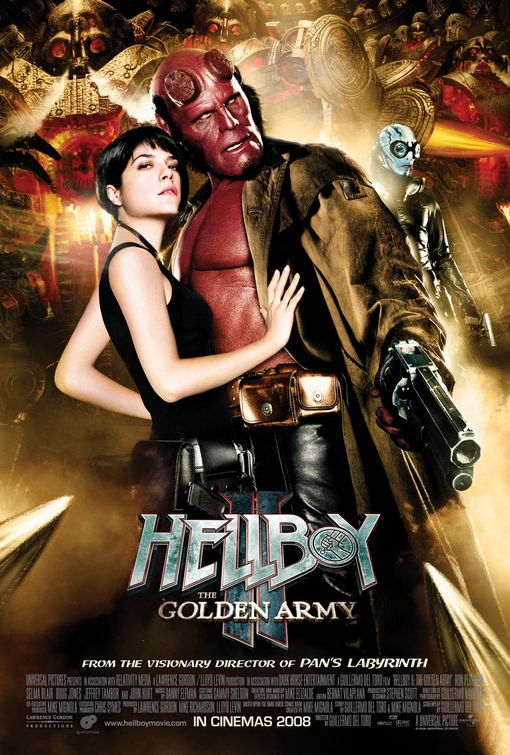 Hellboy II Golden Army movie poster