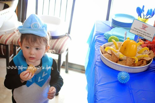Octonauts Birthday Party Food Ideas | Peso Penguin Costume | Under the Sea Party at directorjewels.com