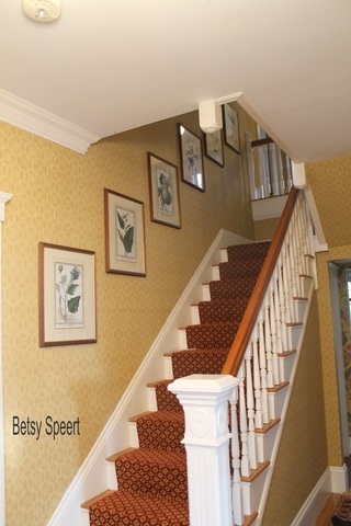 betsy speert 39 s blog how to hang pictures on stairs and the 12th oy vey q a. Black Bedroom Furniture Sets. Home Design Ideas