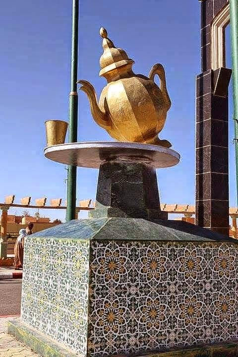 Thè alla menta a Laghouat (Algeria)