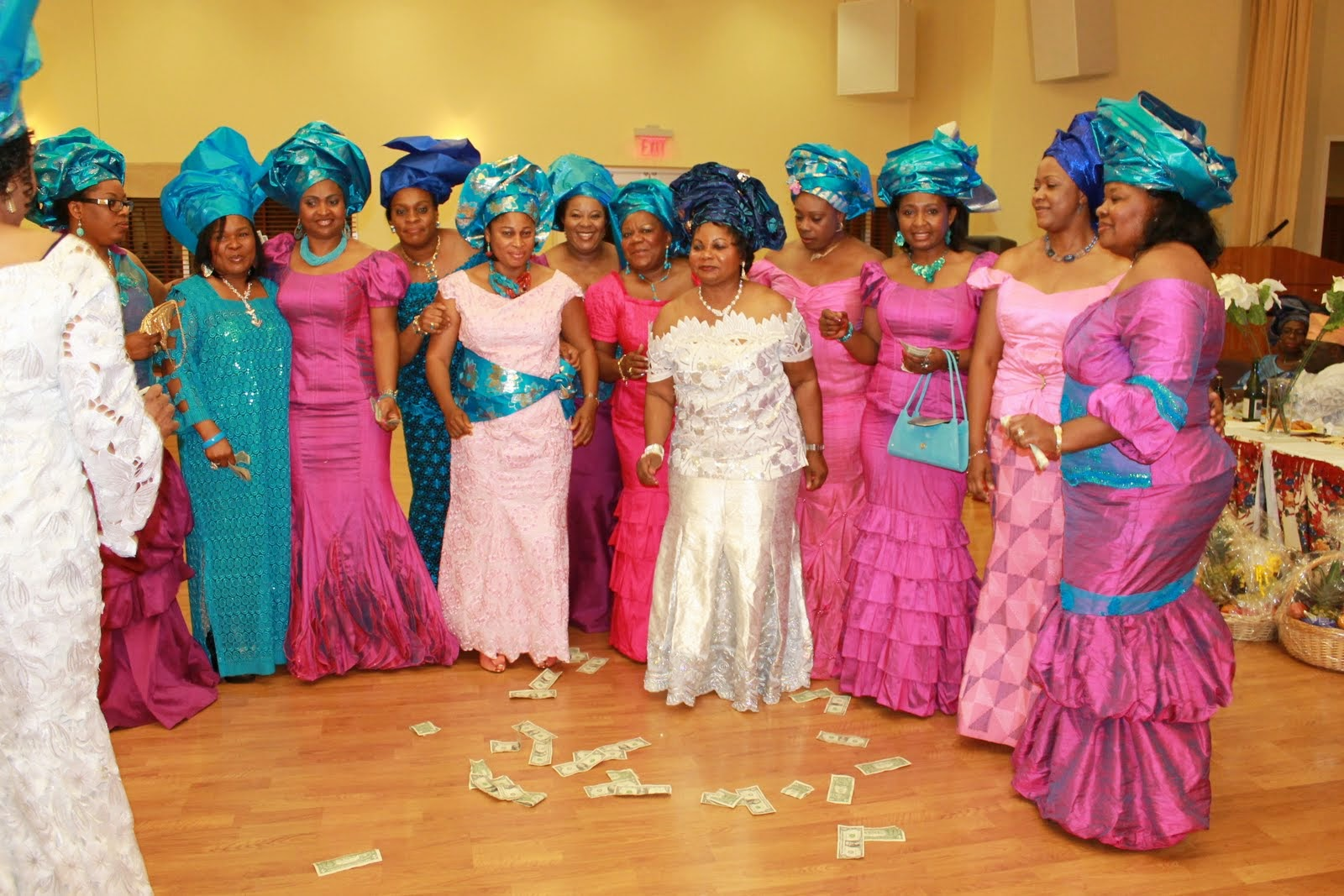 Flashback Summer: African and 1930s Trends - Nigerian Wedding