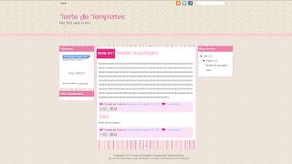 sweet templates colours layout template para blogger blogspot meninas gratis free