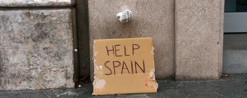 Hands, help Spain