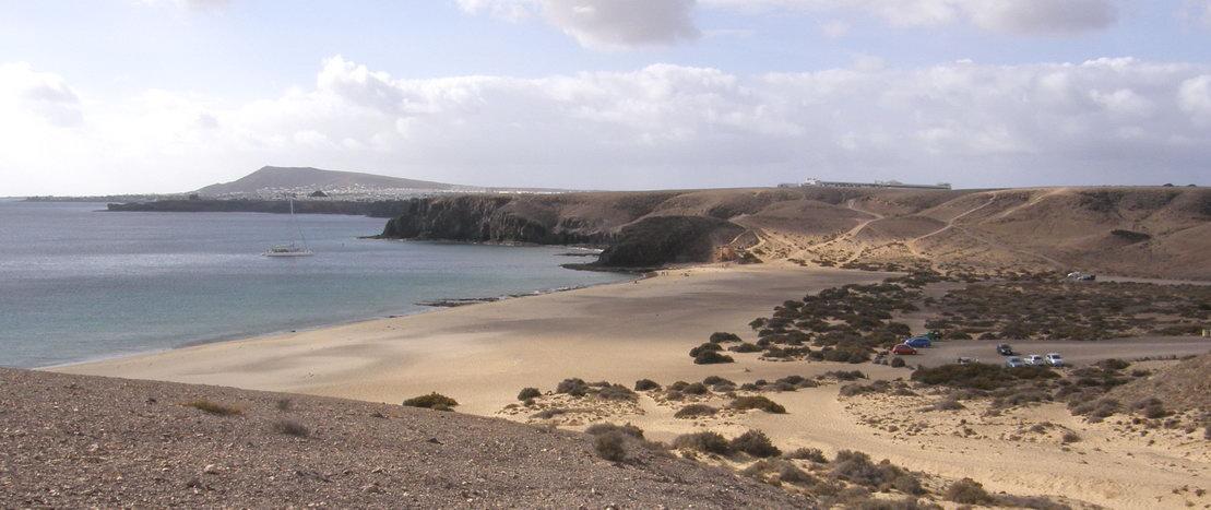 Nude beach Playa Mujeres (Lanzarote)