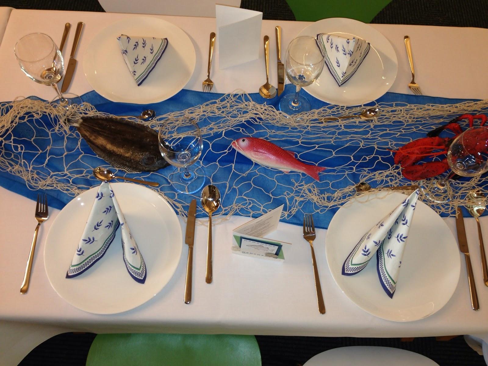 Küchen-Galerie Sande: Tischdekoration Fisch
