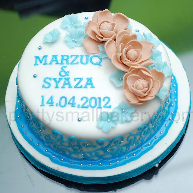 kek hantaran unik dan cantik , kek tunang, kek kahwin