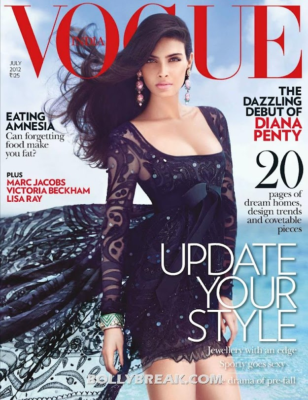 Diana Penty Vogue Cover Page Pic