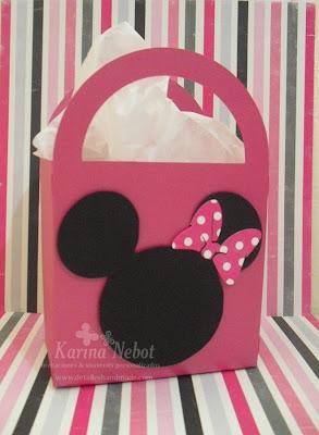 Bolso papel de Minnie
