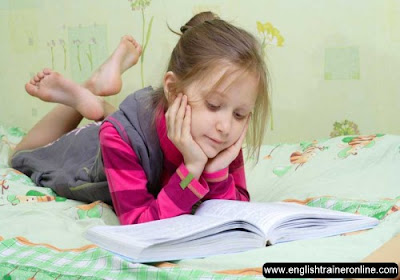 Kids English reading tips