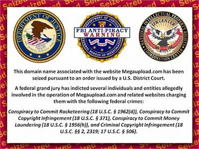 Megaupload clausurado por el FBI