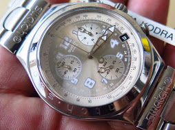 SWATCH IRONY SILVER GREY DIAL