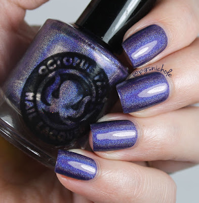 Octopus Party Nail Lacquer Double Duchess