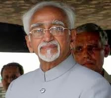 Vice President of India Mohd Hamid Ansari