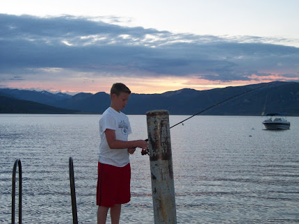Nathan Casting off the Pier