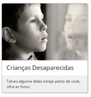 Ajude a encontrar pessoas desaparecidas
