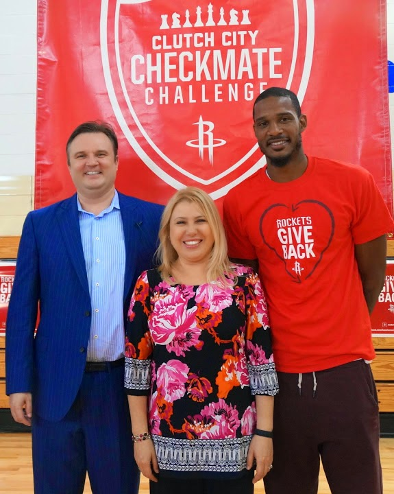 Photos from Clutch City Checkmate Challenge with the Houston Rockets
