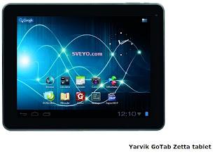 Yarvik GoTab Zetta tablet