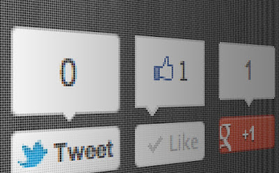 Cara Pasang Tombol Tweet, Google + dan Like Facebook