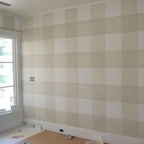 Decoracao Xadrez Para Quarto De Bebe ~ Pintura de parede xadrez, um charme para um quarto de beb?!!
