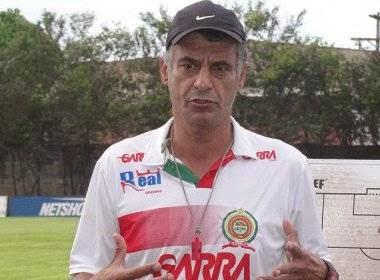 Quintino Barbosa treina a Juazeirense no Baiano 2015