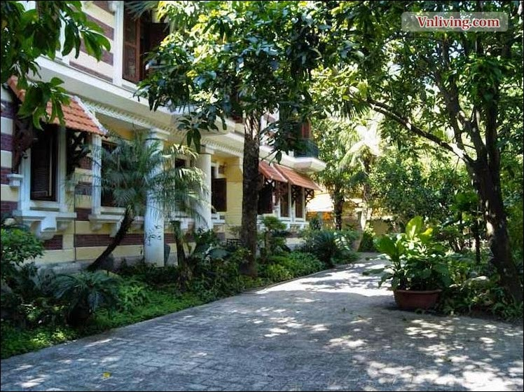 Beautiful Villa for rent in Thao Dien - District 2 HCMC