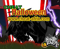 Cheat 2012 Halloween Ninja Saga New Event