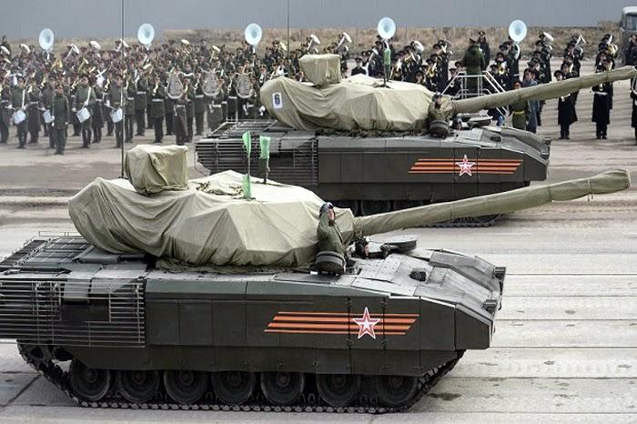 T-14 Tank Rusia
