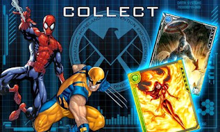Screenshots of the MARVEL War of Heroes for Android tablet, phone.