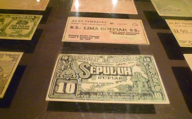 Billetes antiguos de Indonesia