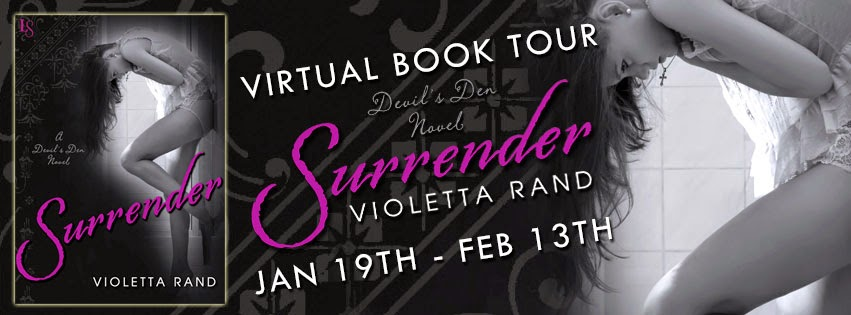 Blog Tour: Author Q&A + Excerpt + Giveaway – Surrender by Violetta Rand