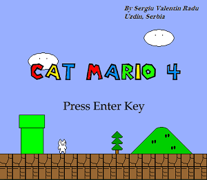 Download Game Cat Mario 4 Full Version PC
