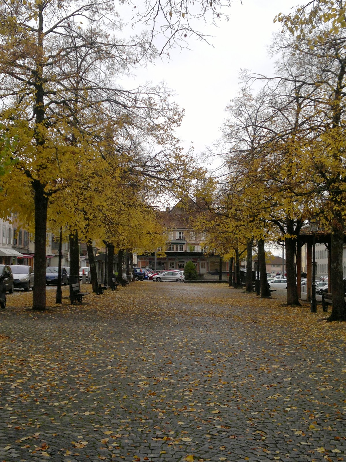 Outono na Suíça!