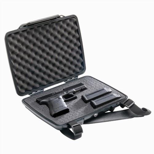 Pelican ProGear P1075 Hardcase Pistol Case w/Foam