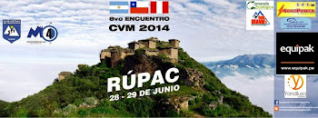 8vo.Encuentro del Club Virtual de Montaña CVM en PERU( 28 y 29 de Junio)
