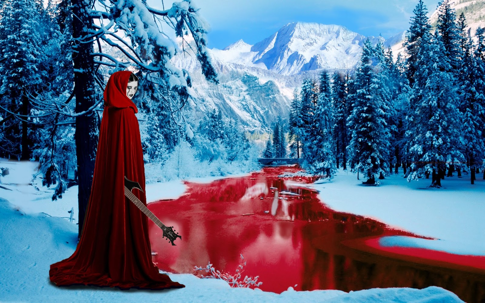 dark and bloody river