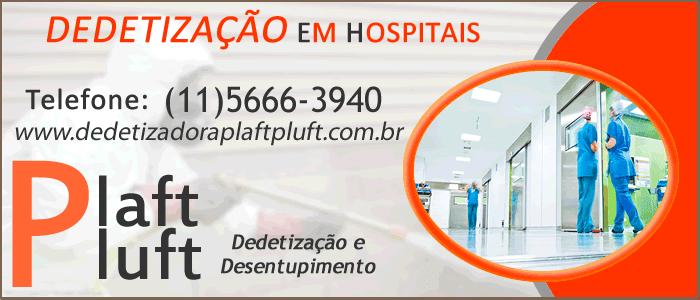 Dedetização em Hospitais - Dedetizadora 24 Horas São Paulo
